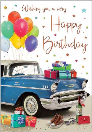Wishing You A Very Happy Birthday Cars